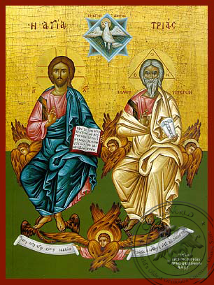 Holy Trinity - Hand Painted Icon