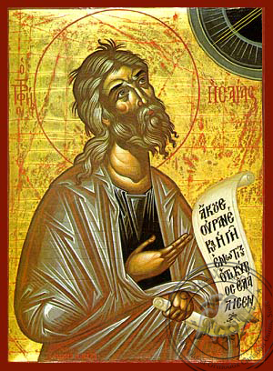 Isaiah the Prophet - Hand-Painted Icon