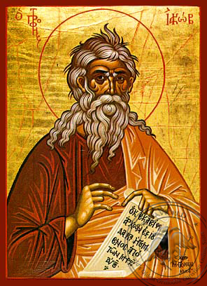 Jacob the Prophet - Hand-Painted Icon