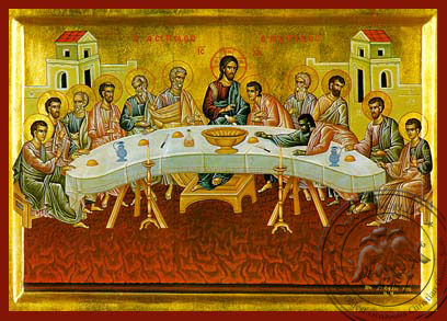 The Last Supper - Hand-Painted Icon