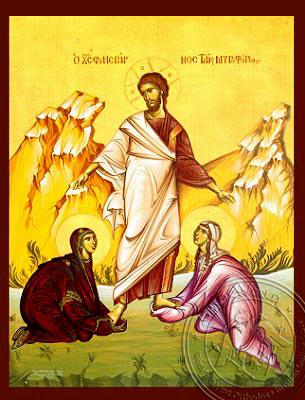 The Presentation of the Christ to the Myrrh Bearing Women Hand-P