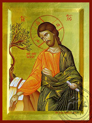 Noli Me Tangere, Detail - Hand Painted Icon
