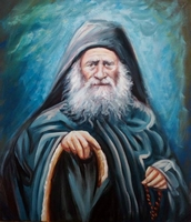 Elder Joseph - Original Hand Painted Modern Icon
