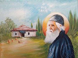 Saint Paisios Panagouda - Reproduction of Original Modern Icon
