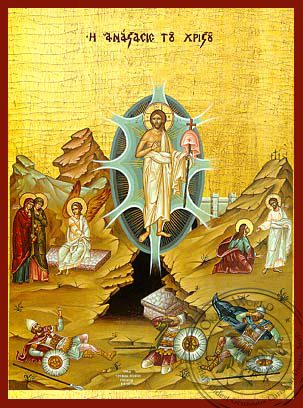 Resurrection - Hand Painted Icon