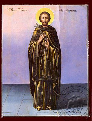 Saint Acacios - Hand-Painted Icon
