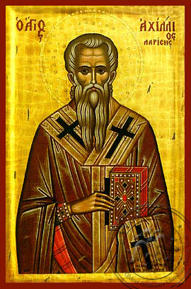 Saint Achillios - Hand-Painted Icon