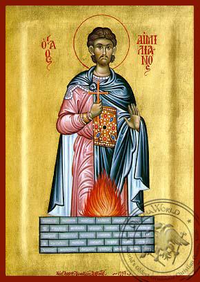 Saint Aemilian - Hand Painted Icon