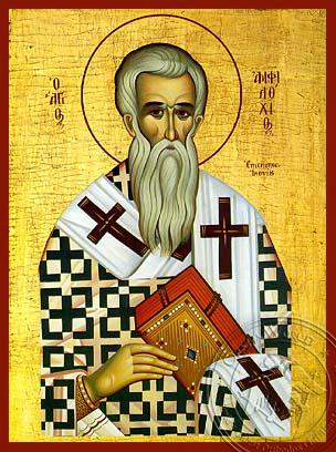 Saint Amphilochios - Hand-Painted Icon