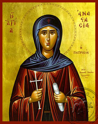 Saint Anastasia the Patrician - Hand-Painted Icon