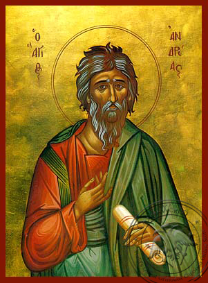 Saint Andrew the Apostle, the First-Called - Hand Painted Icon