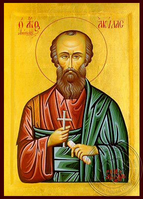 Saint Aquila the Apostle - Hand Painted Icon