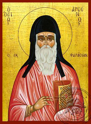 Saint Arsenios Of Cappadocia - Hand-Painted Icon