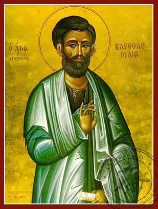 Saint Bartholomew the Apostle - Hand-Painted Icon