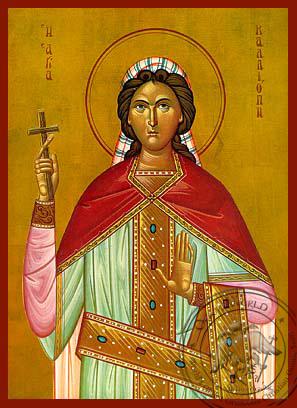 Saint Kalliope - Hand-Painted Icon
