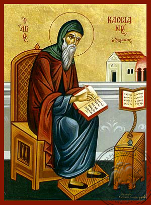 Saint Kassianos of Rome - Hand-Painted Icon