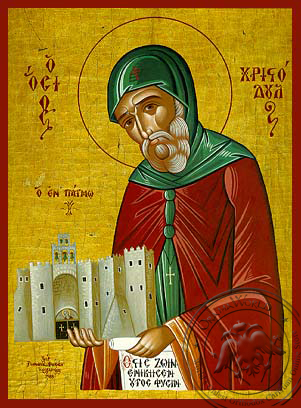 Saint Christodoulos - Hand-Painted Icon