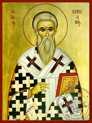 Saint Cyprian - Hand-Painted Icon