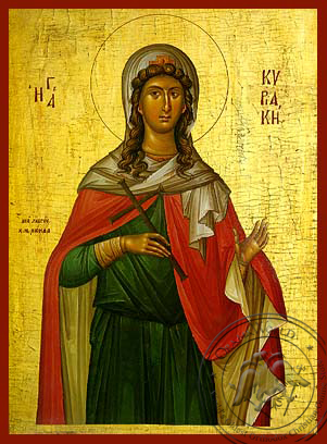 Saint Kyriake - Hand-Painted Icon