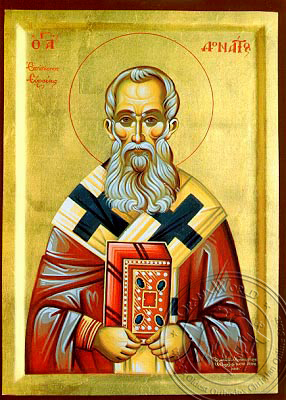 Saint Donatos - Hand-Painted Icon