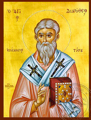 Saint Dorotheos - Hand-Painted Icon