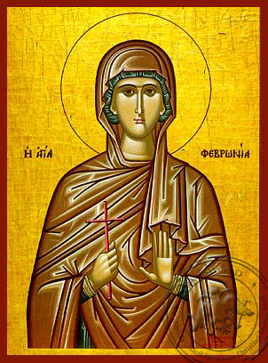 Saint Phevronia - Hand-Painted Icon