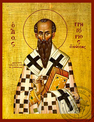 Saint Gregory of Nyssa - Hand-Painted Icon