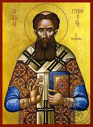 Saint Gregory Palamas - Hand-Painted Icon