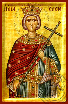 Saint Helen - Hand-Painted Icon