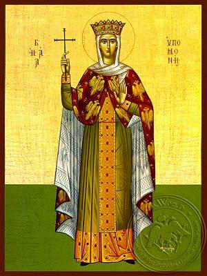 Saint Hypomone, Full Body - Hand Painted Icon