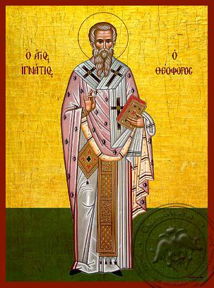 Saint Ignatius of Antioch - Hand-Painted Icon