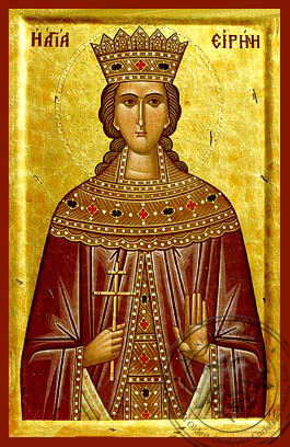 Saint Irene - Hand-Painted Icon