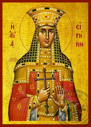 Saint Irene, the Great Martyr - Hand Painted Icon