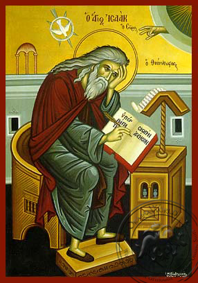 Saint Isaac of Syria - Hand-Painted Icon