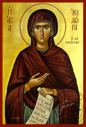 Saint Isidora - Hand-Painted Icon