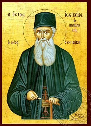 Saint Joachim of Ithaka - Hand-Painted Icon