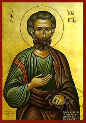 Saint Joachim the Forefather - Hand-Painted Icon