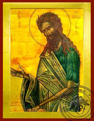 Saint John Damascene - Hand Painted Icon