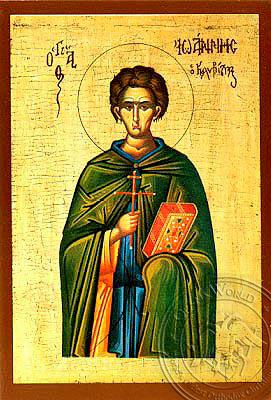 Saint John the Kalybites - Hand-Painted Icon