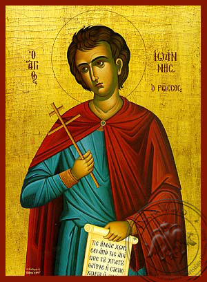 Saint John the Russian - Hand Painted Icon
