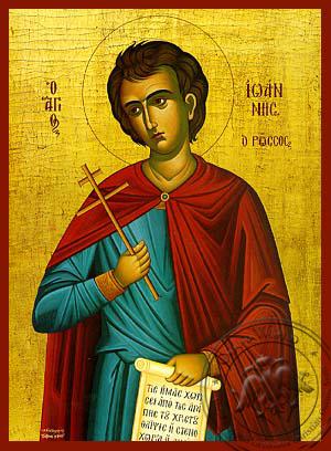 Saint John the Russian - Hand Painted Icon