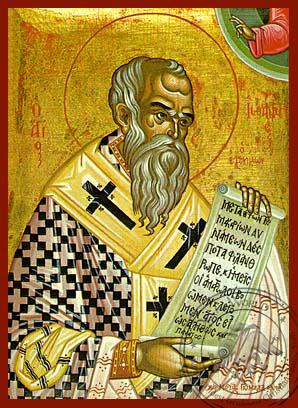 Saint John the Merciful Patriarch of Alexandria - Hand-Painted Icon