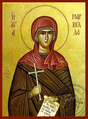 Saint Markella - Hand-Painted Icon