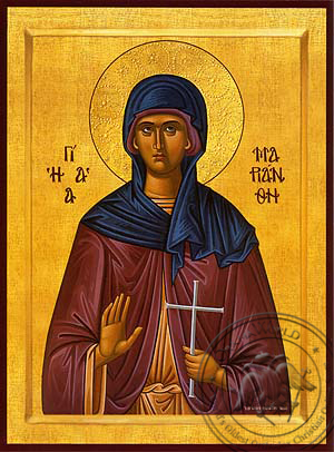 Saint Marianthe, Martyr - Hand Painted Icon