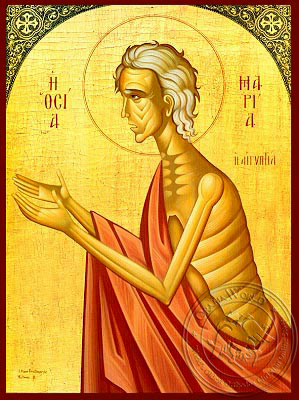 Saint Mary of Egypt - Hand Painted Icon