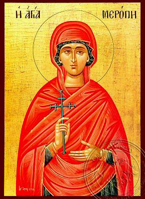 Saint Meropi - Hand-Painted Icon