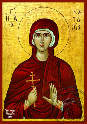 Saint Natalia - Hand-Painted Icon