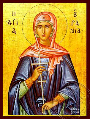 Saint Urania - Hand-Painted Icon