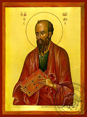 Saint Paul the Apostle - Hand Painted Icon