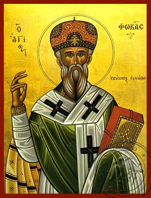 Saint Phokas - Hand-Painted Icon